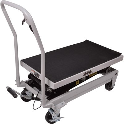 Roughneck Rapid Lift XT Lift Table - 1,000lb. Capacity, 54 1/2in. Max. Lift Height