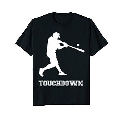 Funny Baseball Shirt Touchdown For Men