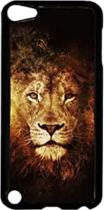 Royal Lion Art- Case for the Apple Ipod 5th Generation-Hard Black Plastic