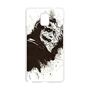 Comics Joker The Dark Knight Artistic Samsung Galaxy Note 4 Cell Phone Case White 91INA91612731