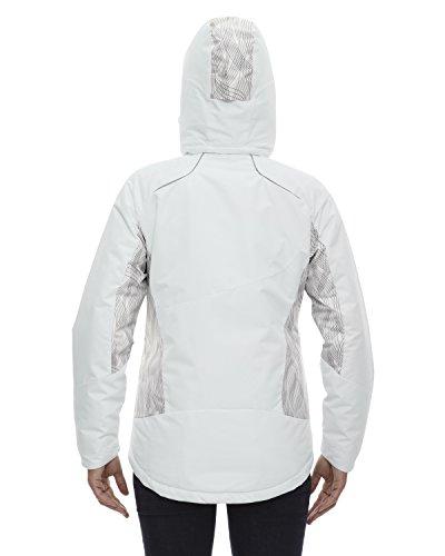 Winter Para North End White Abrigo 822 Mujer FIqvq17w