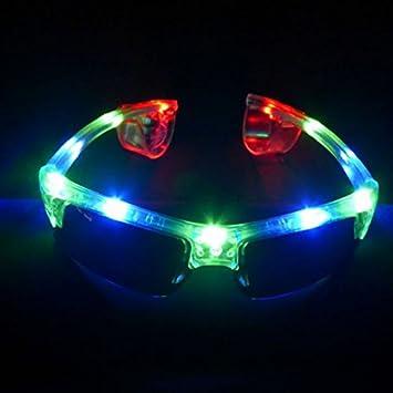 Decotrend-Line Gafas de Sol Luminosos LED,, 463001: Amazon ...