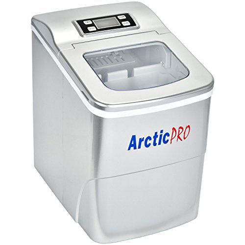 PORTABLE DIGITAL ICE MAKER MACHINE by Arctic-Pro with Ice Scoop, First Ice...