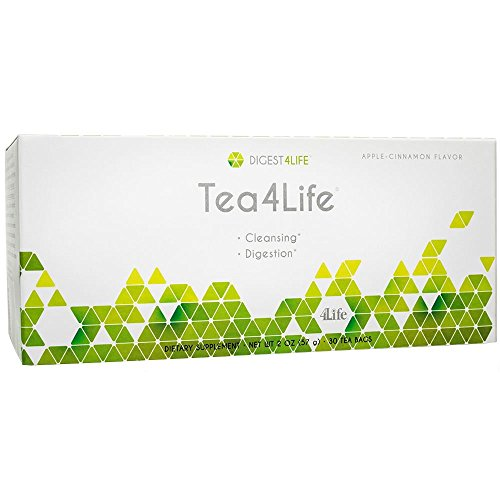 30 Tea Flavor - Tea4Life Natural Cleansing & Detox Tea for Intestinal Maintenance