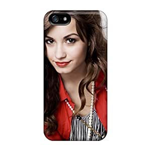 Iphone 5/5s Case Cover - Slim Fit pc Protector Shock Absorbent Case (demi Lovato 7)