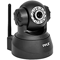 PIPCAM25 Wireless IP Live Video Security Surveillance Camera - Remote Monitoring Mobile App PTZ