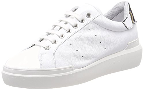 Silver Trainers Women's Bogner Hollywood White 1 White zYF7FU