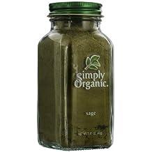 Simply Organic Sage Leaf Ground ORGANIC 1.41 oz. Bottle - 3PC