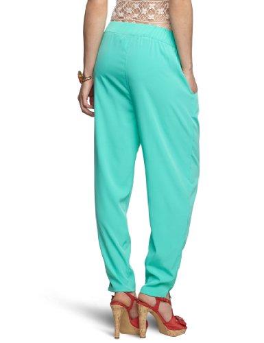 Pieces - Pantalón para mujer Verde (Bermuda Green)
