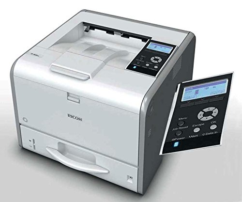 Ricoh SP 3600DN LED Printer - Monochrome - 1200 x 1200 dpi Print - 850 sheets Input - 50000 pages per month - Auto Duplex Print - Ethernet - USB (Emulation 3 Printer Postscript)