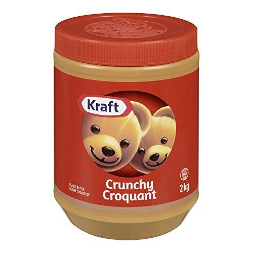 KRAFT Peanut Butter, Crunchy, 2 Kg