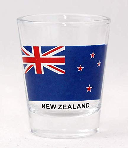 New Zealand Flag Shot Glass