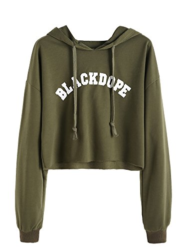 SweatyRocks-Womens-Letter-Print-Long-Sleeve-Crop-Top-Sweatshirt-Hoodies