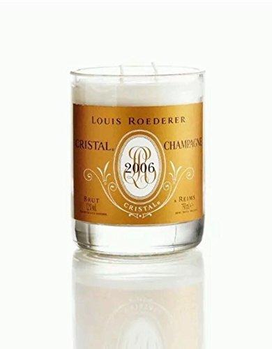 Hecho a mano vela champán cristal Brut 750ml botella de Original regalo