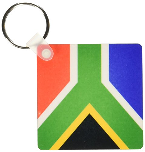 3d Rose 3dRose South Africa Flag - Key Chains, 2.25 x 4.5...