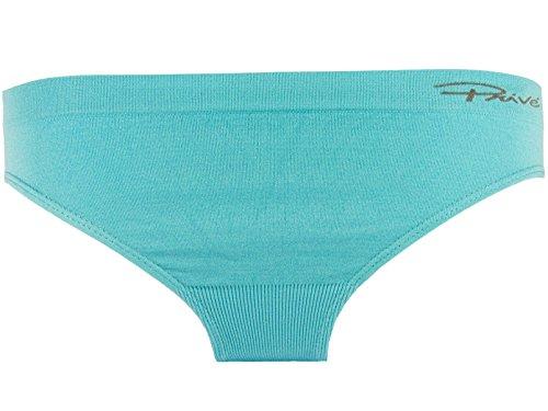 Pack 3 Braguitas bikini mini sin costuras Mujer Negro