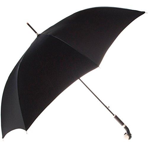 Alexander McQueen Women's Walking Umbrella with Claw Handle Black by Alexander McQueen