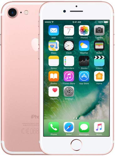 Apple iPhone 7, 128GB, Rose Gold – For AT&T / T-Mobile (Renewed)