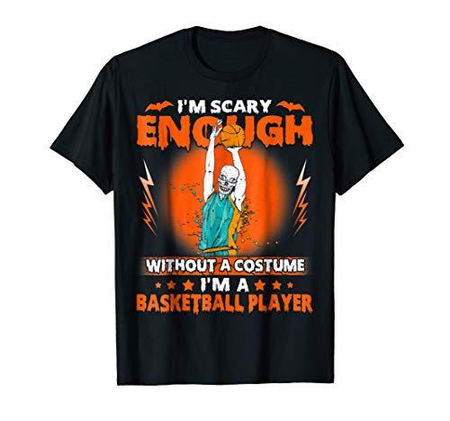 Shirt For Basketball Player Costume Halloween. Funny