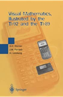 Useful programs for the ti 89 jimmy allen davis 9781553697817 visual mathematics illustrated by the ti 92 and the ti 89 fandeluxe Image collections