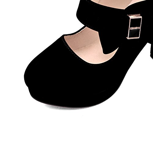 AIWEIYi Womens Fashion Sweet Platform Bow Platform Sweet Pumps Ladies Fashion High Heeled Shoes B01LXOTCKB Platform 785cc8