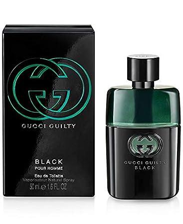 8cddc1071 Amazon.com : Ġûcĉi Guilty Black Pour Homme Eau De Toilette Spray For Men  1.6 FL. OZ./50 ml : Beauty