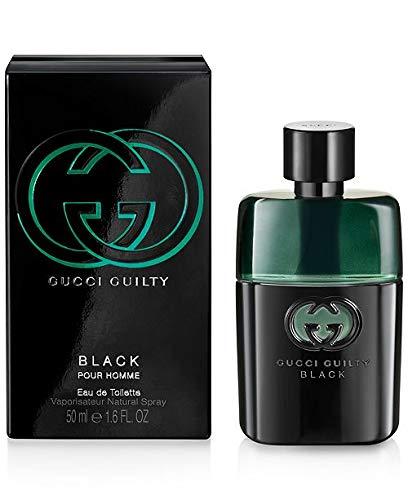 G ucci Guilty Black Pour Homme EDT Spray For Men 1.6 Oz.
