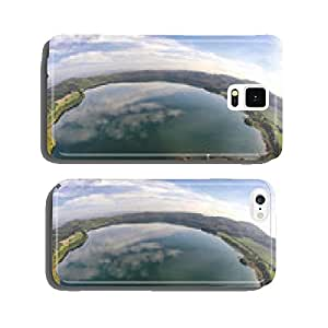 Aerial view on Laacher See cell phone cover case Samsung S6