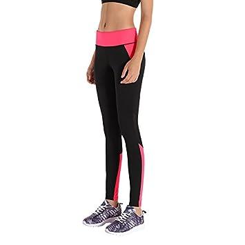 LKKLILY-Stretch Pantalones Yoga Pantalones de Correr para ...