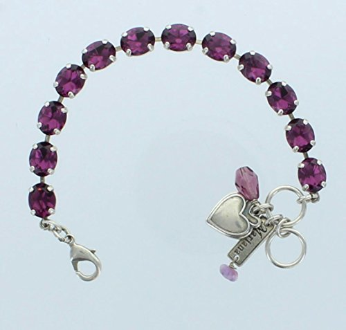 Mariana Jewelry, Mariana Bracelet, Silve - Deep Purple Stone Shopping Results