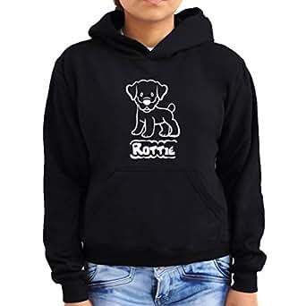 Rottweiler Cute Rottie Women Hoodie