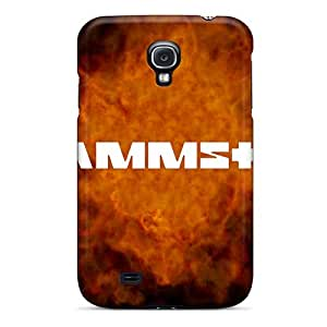 Scratch Resistant Hard Phone Covers For Samsung Galaxy S4 (LVh2040lfZP) Customized Attractive Rammstein Image