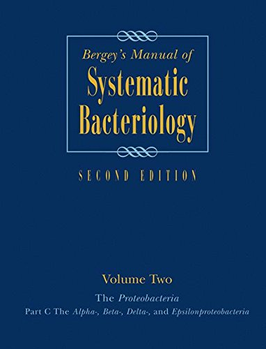 Bergey's Manual of Systematic Bacteriology, Vol. 2: The Proteobacteria, Part C