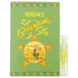 GREEN JEANS by Versace Vial (sample) .04 oz - Versace Green