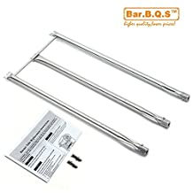 Bar.B.Q.S Stainless Steel Burner Tube Set Replacement Parts for Weber Genesis Silver B and C, Spirit 700 and Genesis Gold gas grills (Grill Burner)