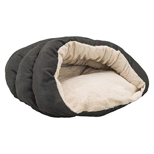 SPOT Ethical Pets Sleep Zone Cuddle Cave – Attractive, Durable, Comfortable, Washable