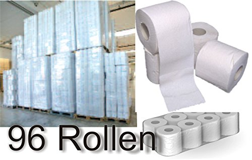 96 Rollen DKB Toilettenpapier Klopapier 3 Lagig extra Soft WC Papier