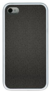 Case For Iphone 5/5S Cover mate cover Patterns Black Squares PC White Case For Iphone 5/5S Cover