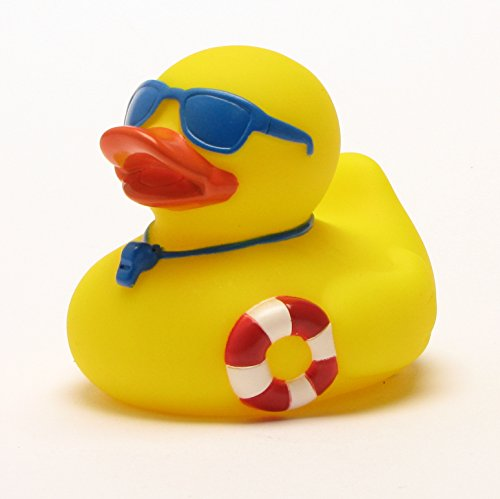 Rubber Duck - Bath Duck - Lifeguard