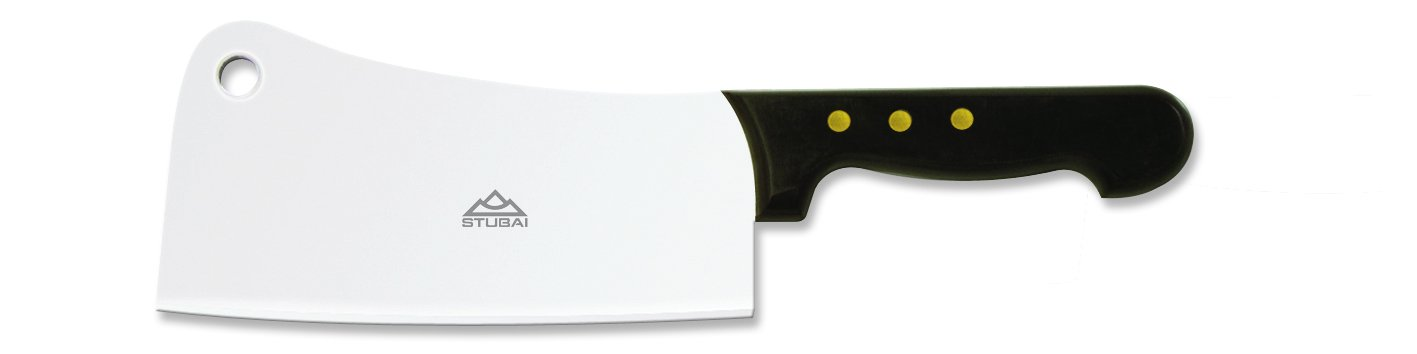 Stubai Medium Stainless Steel Cleaver with PP-Handle 769516