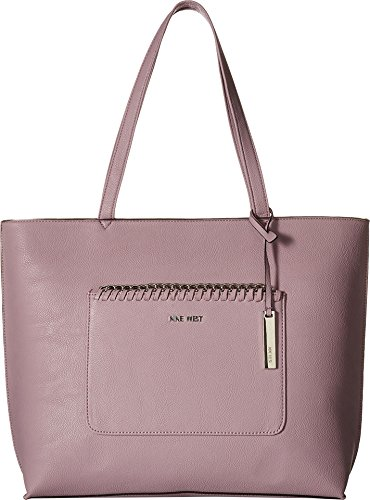 Nine West Women's Tangled Up Tote Wisteria Lilac One Size