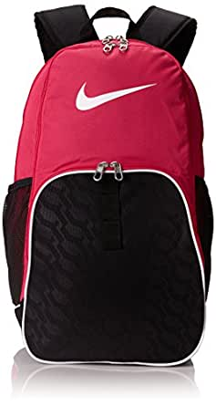 Nike Brasilia 6 XL Backpack Vivid Pink/Black/White Size X-Large