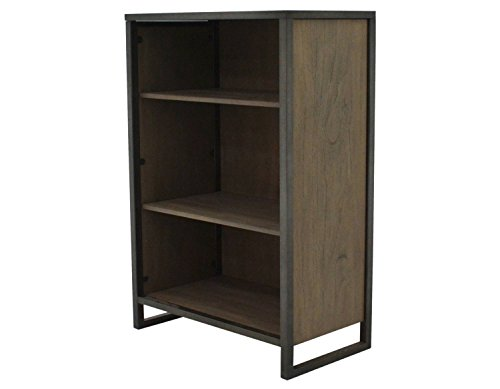 222 Fifth 7007GY783A1F36 Mason 3 Shelf Bookcase - Pts Coffee