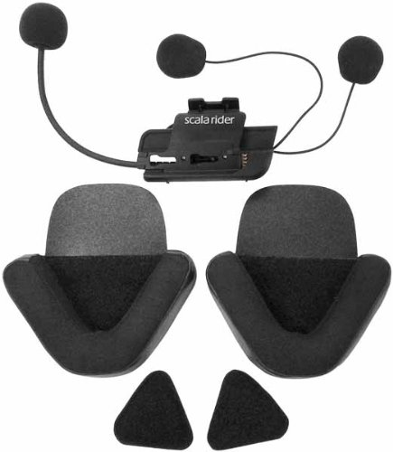 Cardo Systems Inc Q1/Q3 Microphone & Speaker Scala Rider Communication Head Set Accessories - Black by scala rider (Image #1)