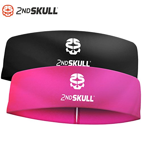 2nd SKULL 4mm Protective Headband With Silicone Grip. Protective Headgear With Impact Absorbing Technology.