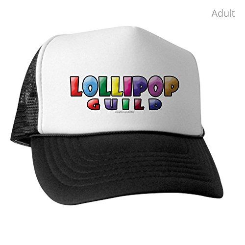 CafePress - Lollipop Guild... - Trucker Hat, Classic Baseball Hat, Unique Trucker Cap - Munchkin From Wizard Of Oz