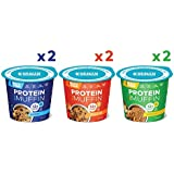HEALTH WARRIOR Protein Mug Muffins, Variety Pack, 12g Plant-Based Protein, Gluten Free, Vegan, Low Sugar, Non-GMO, 2.01oz cups (Pack of 6)