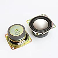 Gikfun 2 4Ohm 3W Full Range Audio Speaker Stereo Woofer Loudspeaker for Arduino (Pack of 2pcs) EK1725