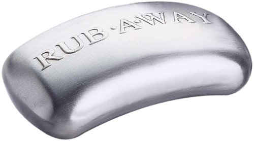Amco 8402 Rub-a-Way Bar Stainless Steel Odor Absorber (Best Way To Store Onions)