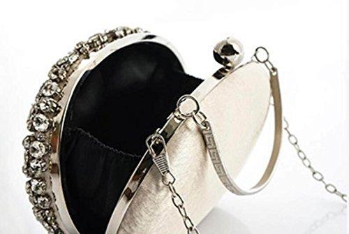 Mode Schultertasche Neue Clutch Schultertasche Kleid Handtasche GSHGA Handtasche Handgemachte qAUwz